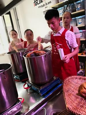 重庆卤菜培训现场教学